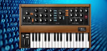 Test:  iOS Moog Minimoog Model D, App