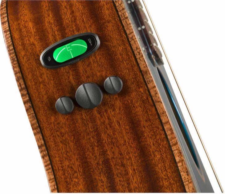Fender Malibu Classic preamp top
