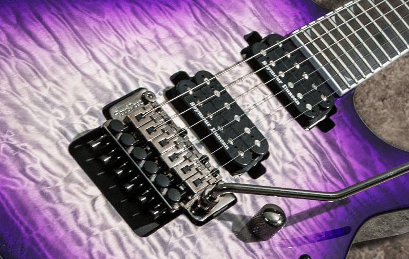 Jackson Pro SL2Q Soloist hardware