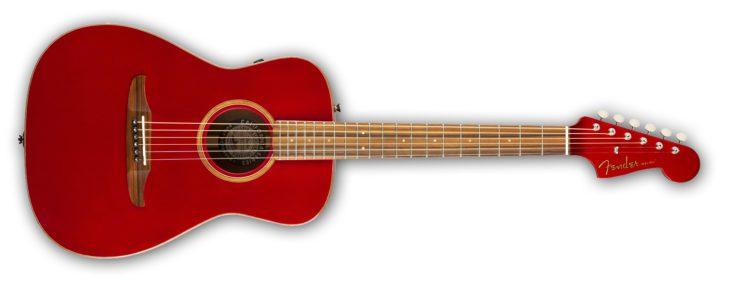 Fender Malibu Classic red