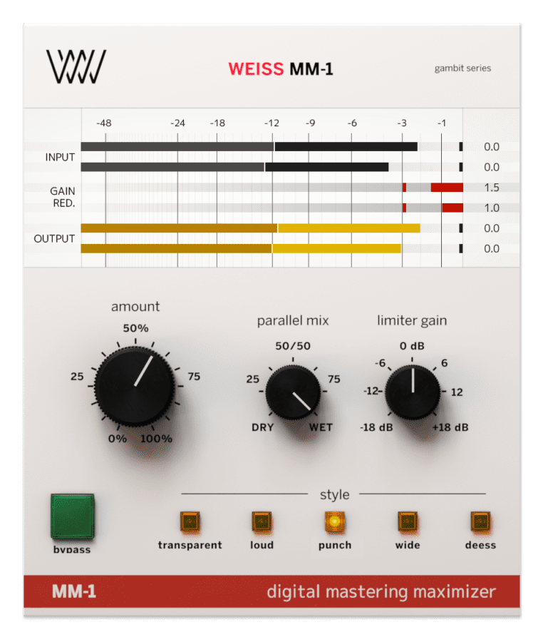 Softube weiss mm1