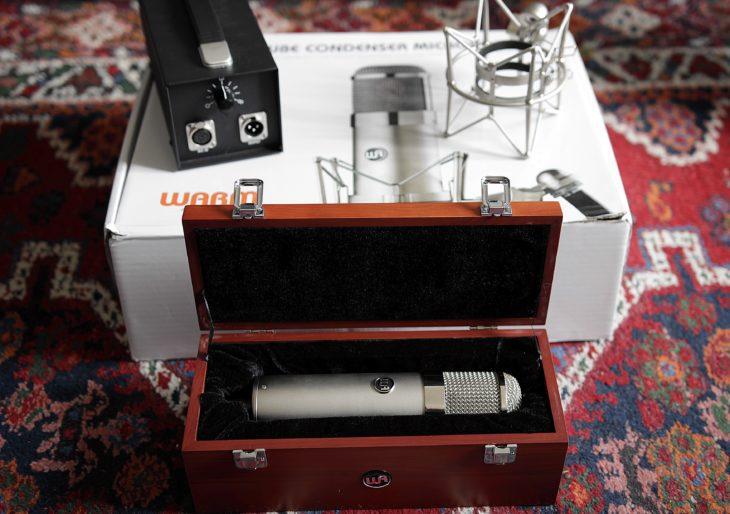 Das WArm Audio WA 47 in der Kiste