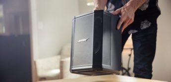 Test: Bose S1 Pro, PA-System Aktivboxen