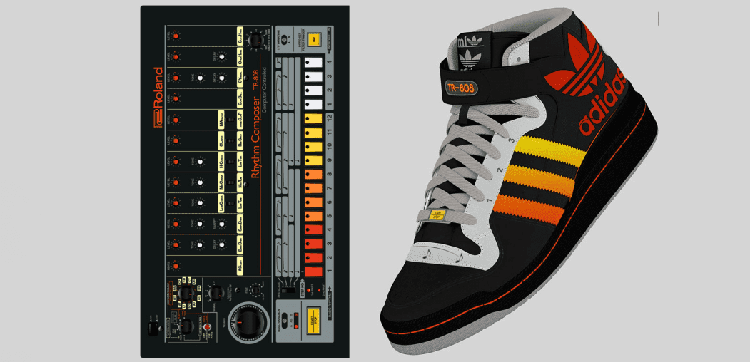 detailed look 26be8 400eb Sneakers im Roland-808-Design von Puma & Adidas - AMAZONA.de