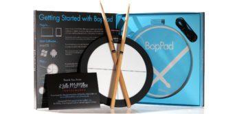 Test: Keith McMillen BopPad, MIDI-Drumcontroller