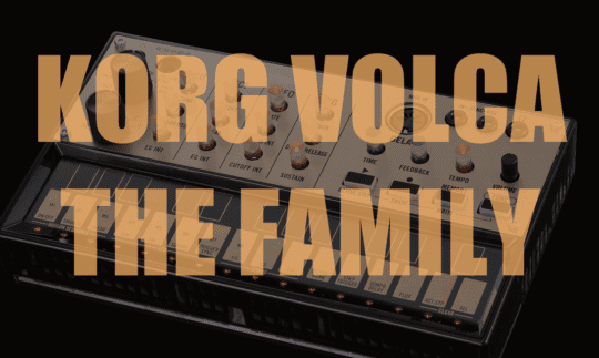 Alle Korg Volca Synthesizer und Workshops auf einen Blick