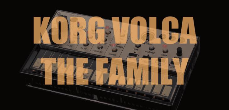 Korg Volca Family