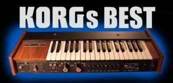 Die besten Korg-Synthesizer aller Zeiten