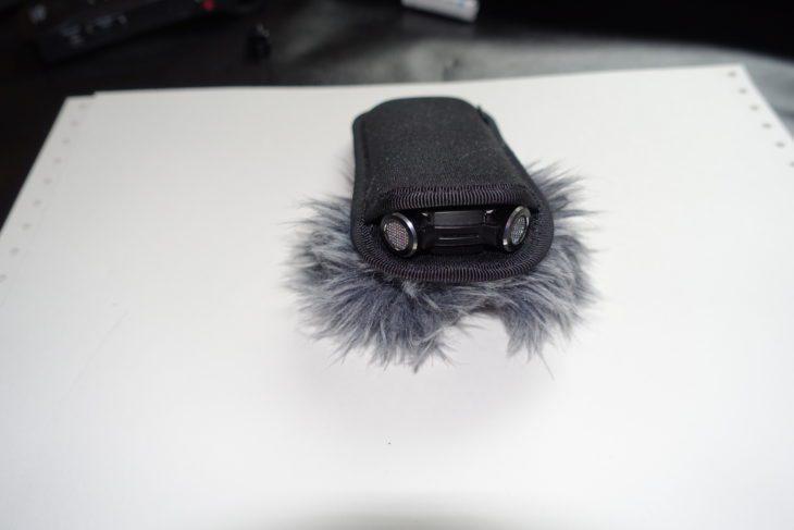 Olympus LS-P4 Mikrofonkapseln