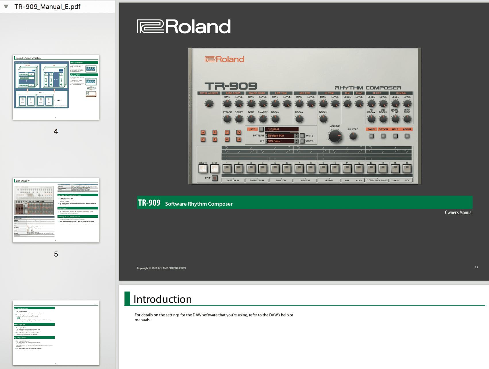 Musikmesse News: Roland Cloud TR-909 VST - AMAZONA de