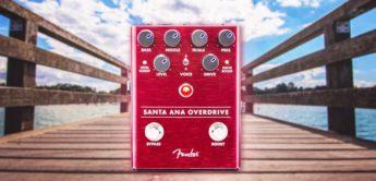 Test: Fender Santa Ana Overdrive, Verzerrerpedal