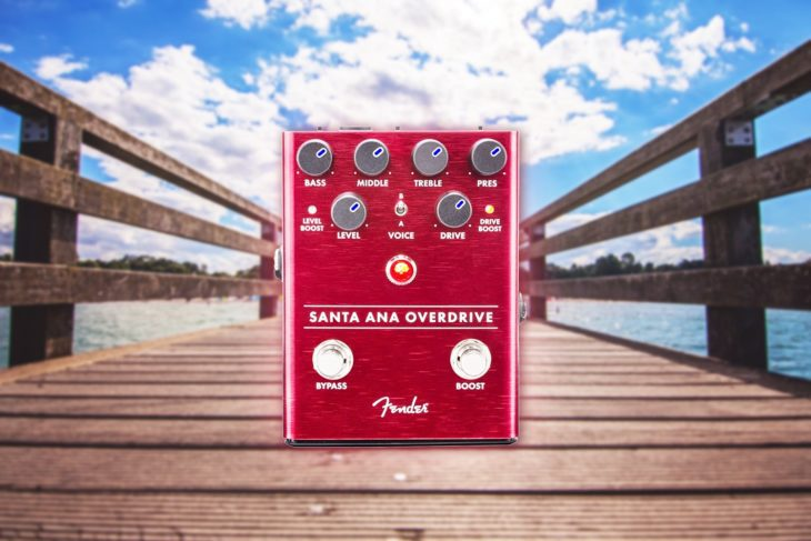 Fender Santa Ana Overdrive title