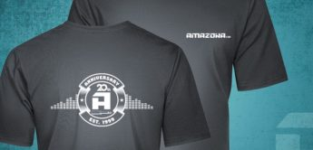 AMAZONA.de-Anniversary-T-Shirts for free