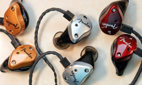 Test: Fender InEar FXA5, FXA6, FXA7