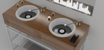 Händewaschen am Plattenspieler?