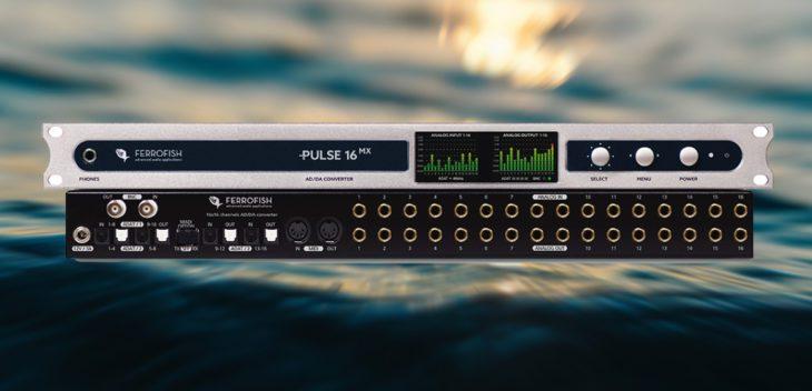 ferrofish pulse 16 mx