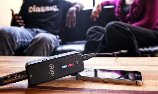 Test: IK Multimedia iRig Pre HD, Audiointerface