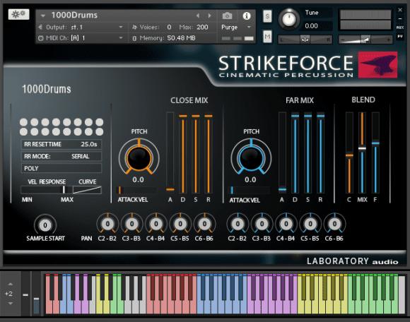 laboratory audio strike force