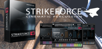 Test: Laboratory Audio Strikeforce, Percussion Soundlibrary