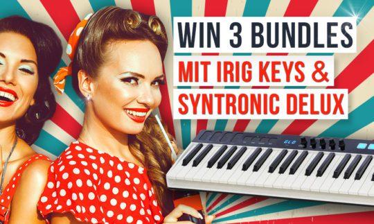 Gewinnspiel: 3x IK Multimedia iRig Keys I/O 49