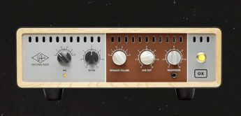 Test: Universal Audio OX Amp Top Box, Lautsprechersimulator