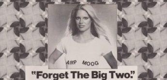 Vintage Synthesizer Moog Minimoog vs. Arp Odyssey