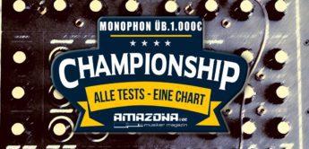 Championship: Die besten Mono-Analog-Synthesizer über 1000,- Euro