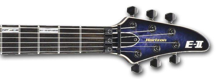 ESP E-II Horizon headstock