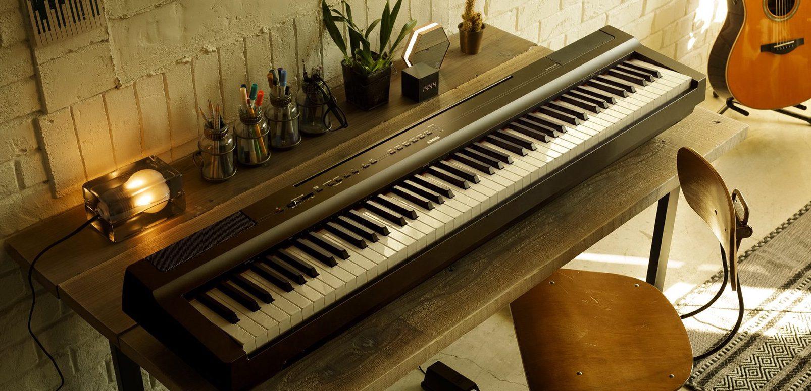 test yamaha p 125 digital stagepiano. Black Bedroom Furniture Sets. Home Design Ideas