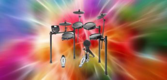 Top News: Alesis Nitro Mesh Kit, E-Drumkit