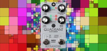 Test: Alexander Pedals Quadrant, Effektgerät