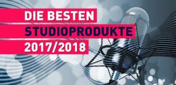 Die besten Studio-Produkte 2017/2018