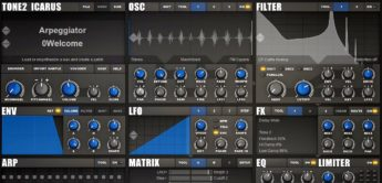 Test: Tone2 Icarus, Wavetable Synthesizer-Plug-in