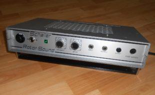 Schaller Rotor Sound vzw. Tausch