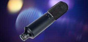 Test: Sony C-100, Zweikapsel Kondensatormikrofon