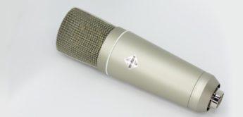 Test: WeissKlang V17, Großmembran Kondensatormikrofon