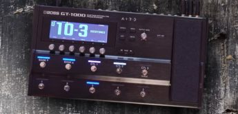 Test: BOSS GT-1000, Multieffektpedal