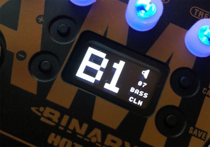 Hotone Binary AMP Display
