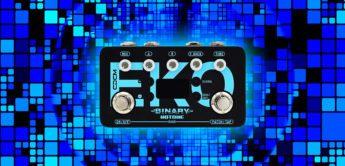 Test: Hotone Binary EKO,  Gitarren Echo Pedal
