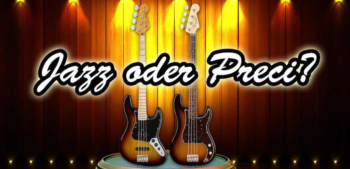 Feature: Fender Jazz Bass vs Fender Precision Bass - AMAZONA.de