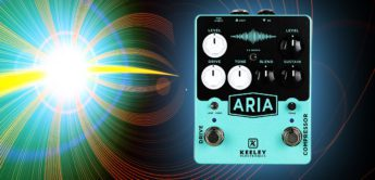 Test: Keeley Aria Compressor/Overdrive, Gitarrenpedal