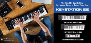 Top News: M-Audio Keystation 61 MK3, Keystation 49 MK3, Keystation Mini 32 MK3, USB/MIDI-Controllerkeyboards