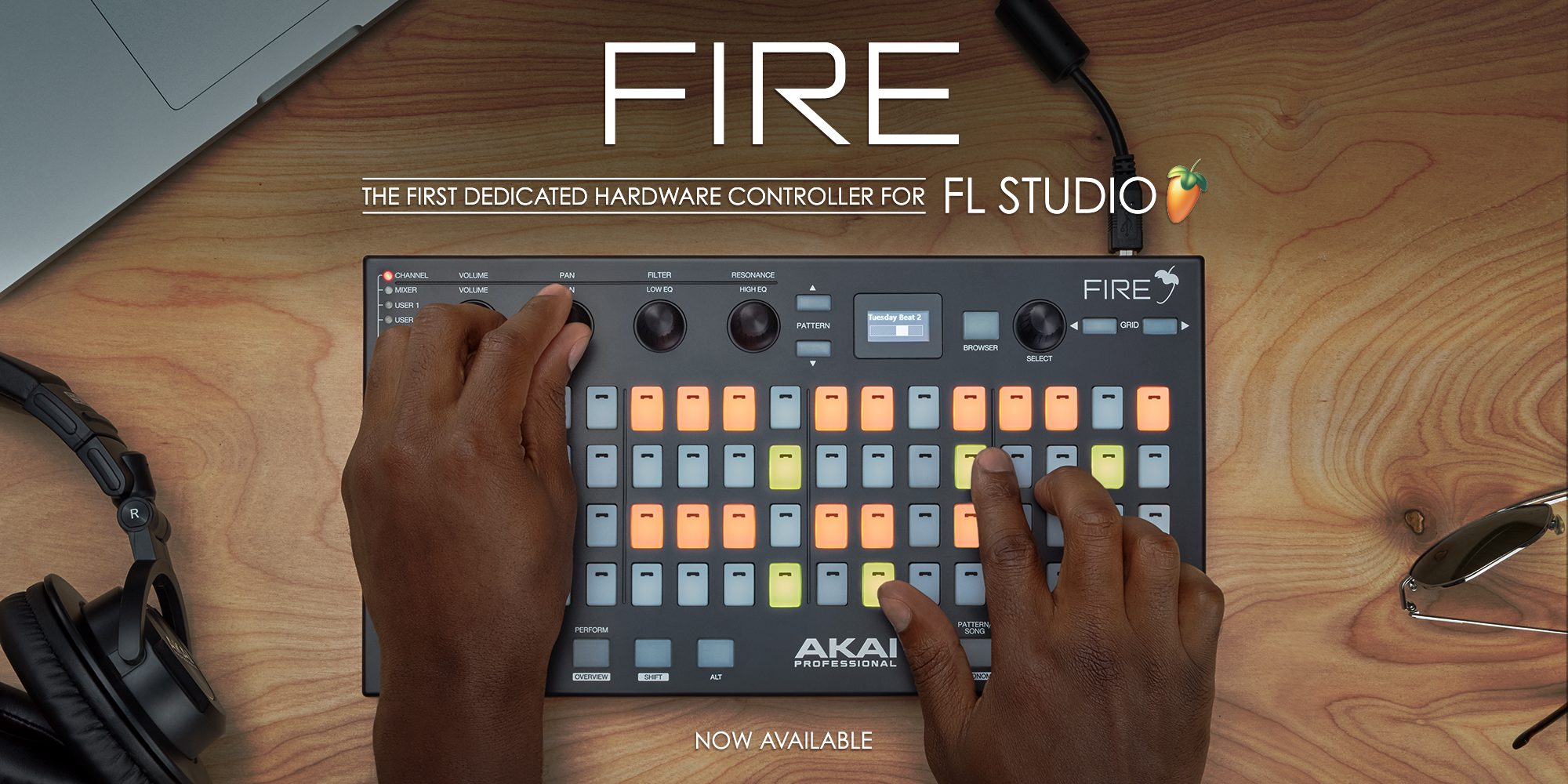 Top News: AKAI Fire FL Studio, USB-Controller - AMAZONA de