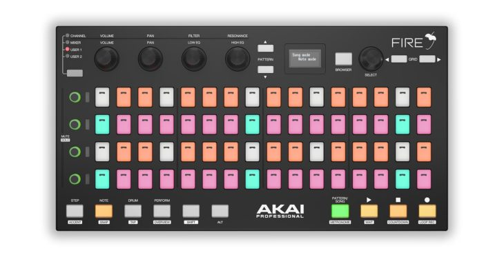 akai fire fl studio