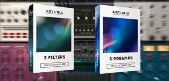 Test: Arturia Mini-Filter, M12 Filter, SEM Filter, 1973 Pre, TridA Pre, V76 Pre, Plug-ins