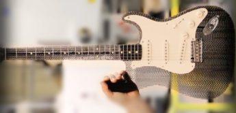 E-Gitarre aus Pappe und andere Kuriositäten