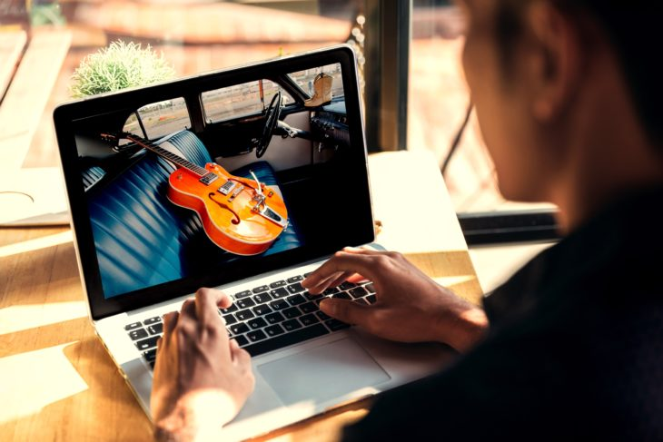 Die besten Webseiten für Gitarre