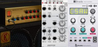 Top News: Softube Doepfer BBD, Eden WT-800, Mutable Instruments Braids, Software Plugins