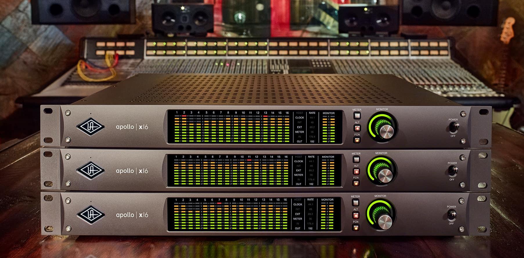 Top News: Universal Audio Apollo X6, X8, X8p, X16