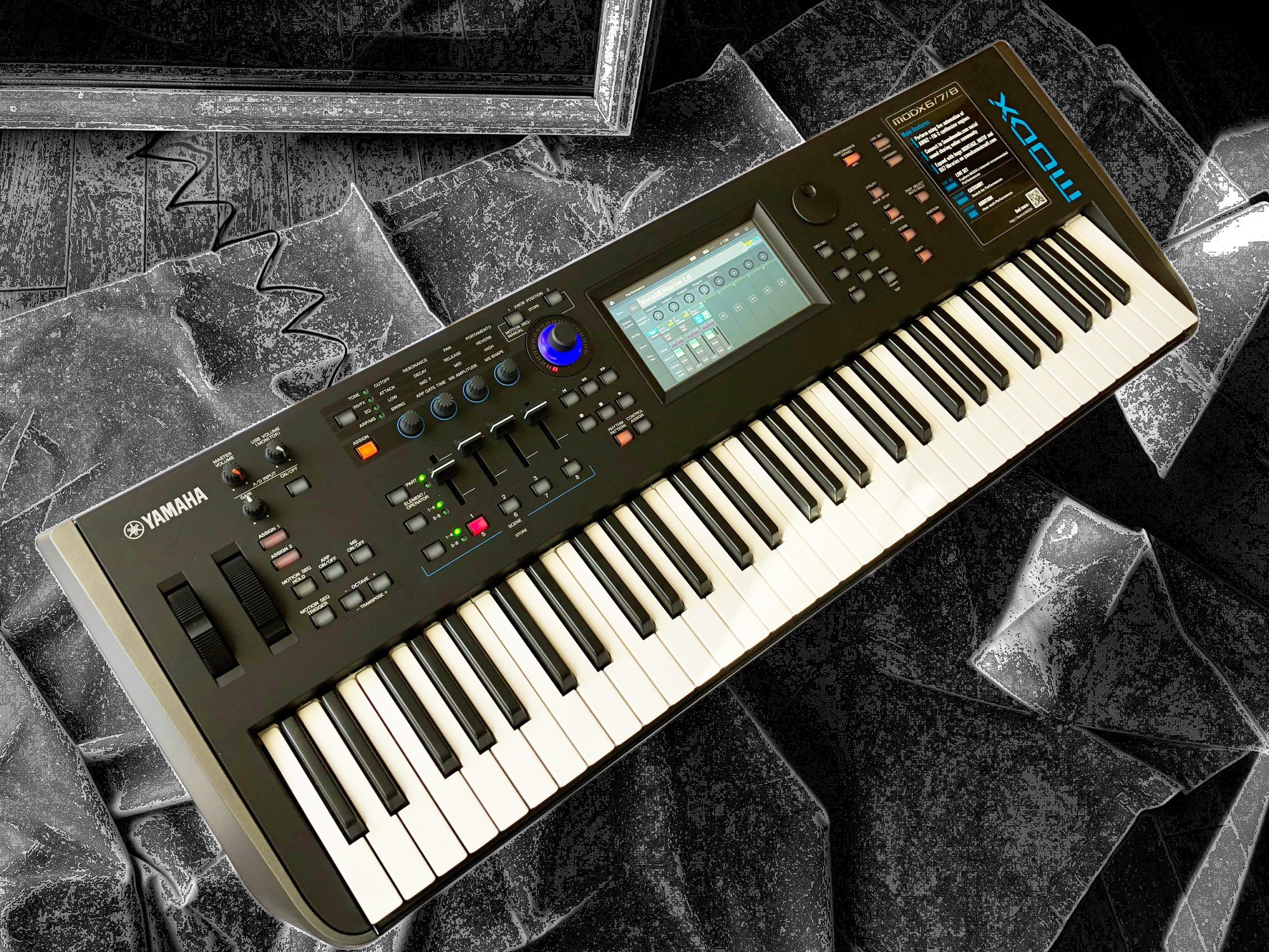 Test: Yamaha MODX6, MODX7 & MODX8 Synthesizer - AMAZONA de